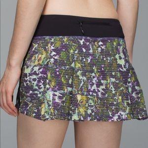 Lululemon | Pace Rival Skirt II Floral Sport 10